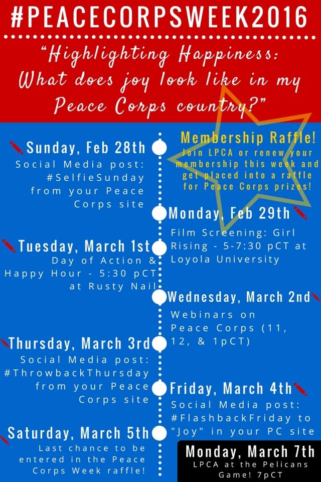 2016 Peace Corps Week